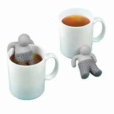 Mr.Tea Gray Silicone Tea Infuser Loose Tea Leaf Strainer Filter Diffuser