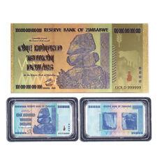 Zimbabwe 100 Trillion Banknote World Paper Money Collection Souvenir Supplies