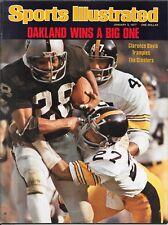 Sports Illustrated 1977 CLARENCE DAVIS Oakland Raiders #1 Pittsburgh USC NoLABEL
