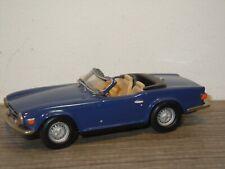 Triumph TR6 - K&R Replicas SMTS England 1:43 *36843