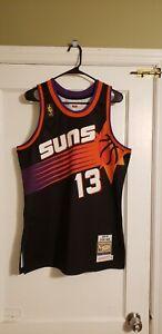 100% Authentic Steve Nash Mitchell & Ness 96/97 Phoenix Suns Jersey Size 40 M
