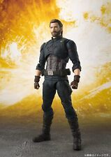 Bandai S.H.Figuarts Avengers Infinity War Captain America Figure JAPAN OFFICIAL