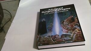 Advanced Dungeons and Dragons THE LOST HANDBOOK  Hardcover NEW AD&D TSR Gygax
