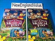 NEW SEALED! My Friends Tigger & Pooh: A Musical Too (DVD, 2009) WINNIE DISNEY
