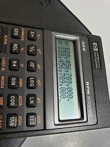 Open Box HP 42S Hewlett Packard Calculator NOS