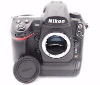 Nikon D D3 12.1MP Digital SLR Camera - Black (Body Only)