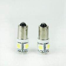 2PCS Xenon T11 5050 W5W 5 SMD 194 168 2825 12V White LED Blub Car Light Bright