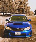 2014 Subaru Impreza WRX 2014 Subaru Impreza Hatchback Blue AWD Manual WRX