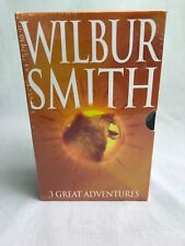 WILBUR SMITH BOOK SET 3 BOOKS. BRAND NEW & SEALED RRP £20