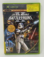 Star Wars: Battlefront II 2 (Microsoft Xbox, 2005) No Manual Tested Working