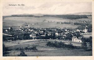 Oberösterreich Foto Totale Ort Gallspach gelaufen Krill Linz 1927
