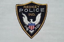US Redkey Indiana Police Patch Obsolete