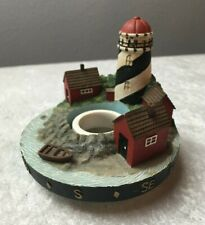 Our America Stay On Tops Candle Topper Nautical Light House Capper Product
