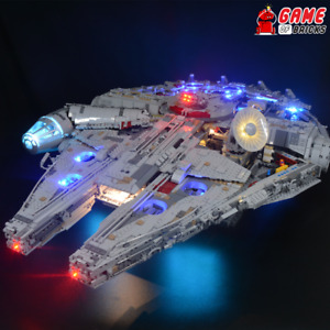 Game of Bricks LED Light Kit ONLY for Millennium Falcon 75192 (Remote Version)