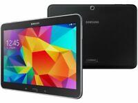 "Samsung Galaxy Tab 4 10.1"" T537V (Verizon + WiFi) w/CRACKED SCREEN *Lot of 4*"