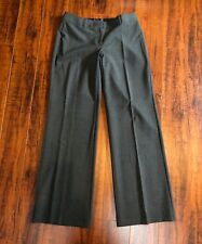 "Designer THE LIMITED 'Marisa' Fit sz 4 L32 x W30, Rise 8"" Gray Dress Pants"