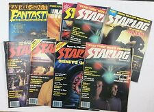 Starlog-Plus SciFi-Magazine Lot-Nine Issues 26, 29, two copies of 30, 31-METEOR