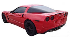 2005-2013 Corvette C6 vinyl smoked overlay kit tints tail lights (9 piece kit)