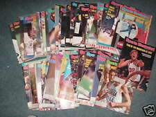 SPORTS ILLUSTRATED -YEAR 1980- 34  EDITIONS
