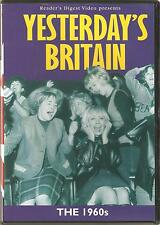 YESTERDAY'S BRITAIN - 3 DVD SET - READERS DIGEST - THE 1940s, 1950s & 1960s