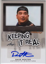 2013 POP CENTURY KEEPING IT REAL AUTO: DAVE HESTER #11/25 AUTOGRAPH STORAGE WARS
