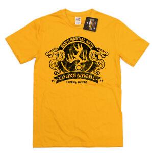 Han's Martial Arts Tournament Tee - Enter Dragon Inspired T-shirt - Bruce Lee