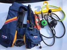New listing Sea Quest Divers vest an dual air hose dive computer with compass.