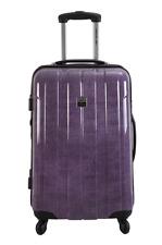 FRANCE BAG Valise rigide 60 cm pour  moyen séjour – Polycarbonate – Jeans Lilas