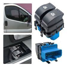 UK Electric Window Switch Front Door Fit for Vauxhall Vivaro Movano 93858398 Kit