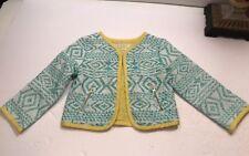 EUC Genuine Kids By OshKosh Tropic Spring Blazer Jacket Cardigan Sz 18m