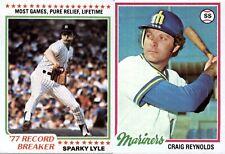 1978 Topps Baseball (1-200) - YOU PICK THE CARD