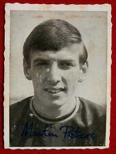 Martin Peters-A&BC goma de mascar, 1969/70, arruga Cortar los futbolistas, serie 1, #6
