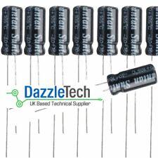 1000uf 25V electrolytic capacitor 1000U Aluminium radial 20% 105 deg Pack of 5