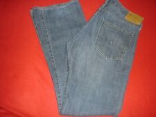 Mens G Star Raw Low Boot Blue Jeans size 33 X 34