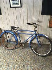 1937 Elgin Motorbike Pre-War Skiptooth Vintage Balloon Bicycle