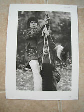 Rolling Stones Keith Richards Vtg Candid Coffee Table Book Photo #9