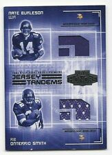Nate Burleson/Onterrio Smith 2003 Playoff Honors Jersey Tandem Cd. # JT-4