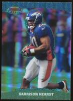 2004 Topps Bowman's Best Green Garrison Hearst #12 Denver Broncos /499