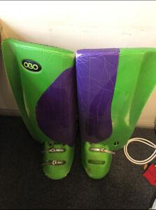 OBO Robo Hi-Rebound Legguards + Kickers Large