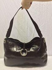 Franco Sarto Brown Leather Shoulder Bag Purse