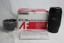 Tamron AF75-300mm F/4-5.6 LD MACRO (1:3.9) Lens for Canon Model 672DE New OBox