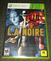 L.A. NOIRE - XBOX 360 - COMPLETE WITH MANUAL - FREE S/H - (PP)