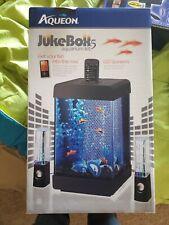 Aqueon Jukebox 5 Desktop Aquarium Kit W/led Speakers & Phone/mp3 Player Cradle