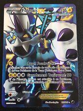 Carte Pokemon FULGURIS 110/116 Holo EX Full Art Noir et Blanc Française NEUF