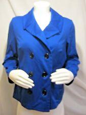 NWT Fashion Bug Royal Blue Pea-coat Women's Plus Size 1 X