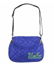 NCAA UCLA Bruins Quilted Saddlebag Women's Blue Purse NWT SEE DESCRIPTION