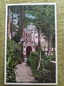1930's The Grotto, Les Vauxbelets, Guernsey. The Little Chapel