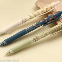 3Pcs 0.5mm Lovely Flower Ballpoint Pen School Office Supplies Gift Random Color