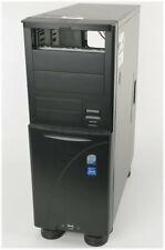 Silentmaxx Big-Tower ATX PC Gehäuse gedämmt schwarz 3x Lüfter