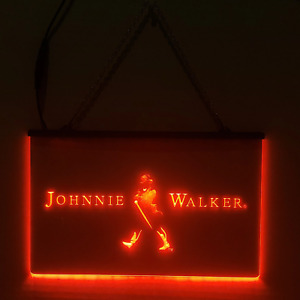 Johnnie Walker LED Sign Scotch Whiskey - Man Cave